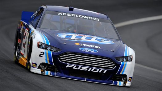 2013 nascar's ford fusion