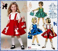 Vintage Fashion Simplicity 1950's Child's Jumper