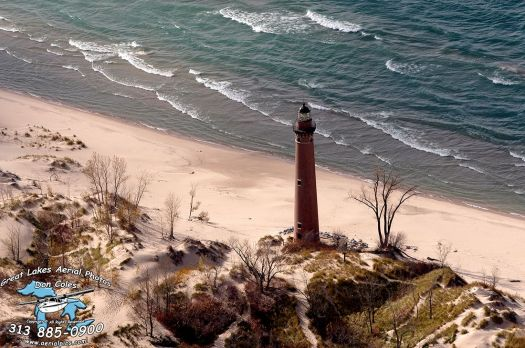 Little Sable Point Lighthouse, MI c 1874
