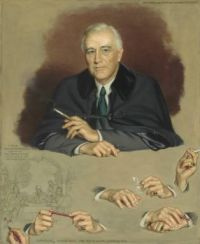 Franklin D. Roosevelt National Portrait