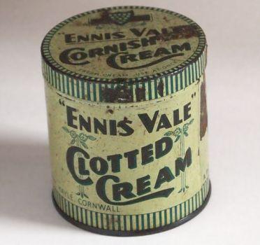 Vintage Tin - Cornish Clotted Cream