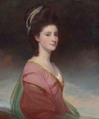 George Romney Portrait of Elizabeth Ramus  18th century