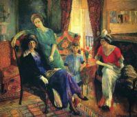 William Glackens' Cafe di la Paix