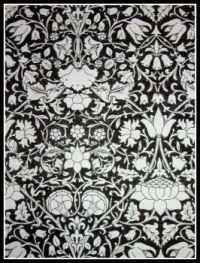 Art - Colouring - Liberty Colouring Book - Lodden - Black & White (Very Large)
