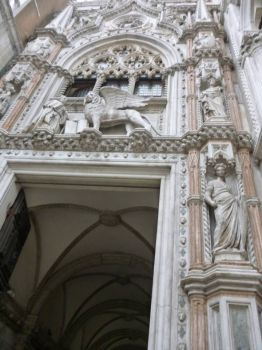 Doorway of San Marcos Basilica Venice