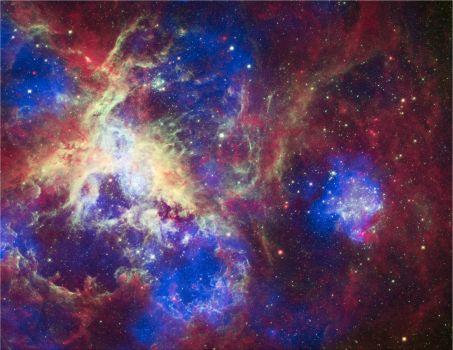 Hubble picture of the Tarantula Nebula