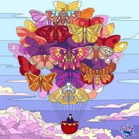 Butterfly Balloon Ride