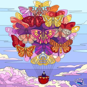 Butterfly Balloon Ride