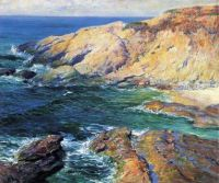 Guy Rose.incoming-tide-1917.