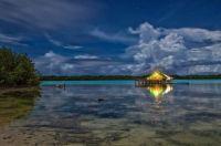 lagoon by night