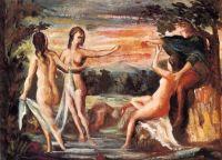 Paul Cézanne - The Judgement of Paris (1864)