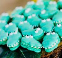 Crocodile macarons :)
