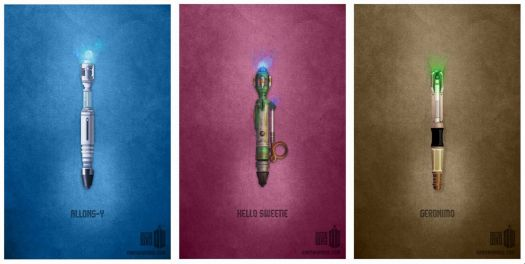 Doctor Who - Sonic Screwdrivers