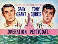 OPERATION PETTICOAT - 1959 POSTER CARY GRANT & TONY CURTIS