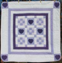 Lavender Nine Patch