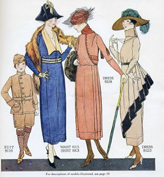 3 Ladies and a Boy Fashions