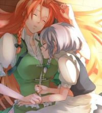 Sleepy Times with Meiling and Sakuya