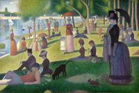 Georges Seurat--A Sunday Afternoon on the Island of La Grande Jatte, 1884
