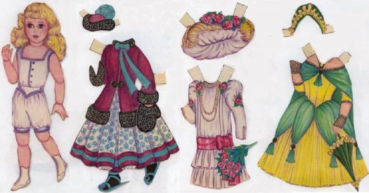 A Marque Paper Doll