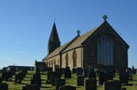 Church at Newbiggin, Northumberland