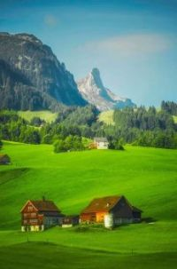 Appenzell, Switzerland -- Living by the Mountains.....