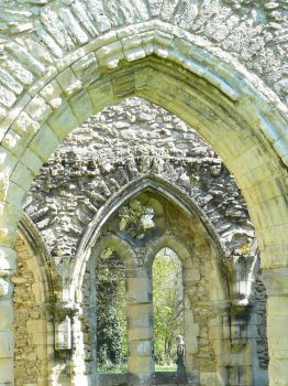 Ruins of Netley Abbey, Southampton, UK.