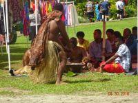 Demonstration of Kava making