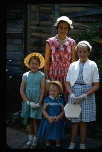 Off to Sunday School 1956.
