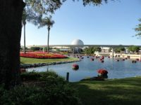 Epcot during the flower show 2014