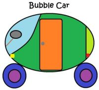 Wobblybear Creations 516 - (now FREE to own) - Abstract Bubble car 05052021 (Medium)