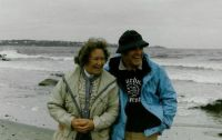 Roy & Ginny Vrba on York Beach, Maine