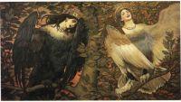 Viktor Vasnetsov. Sirin and Alkonost. The Song of Joy and Sorrow. 1896