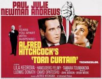 Alfred Hitchcock's TORN CURTAIN - 1966 POSTER - PAUL NEWMAN & JULIE ANDREWS