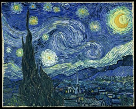 VanGogh-starry night