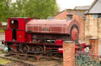 elsecar heritage railway 18-05-2015 b4 saddletank locomotive - earl fitzwilliam - avonside 1923  01