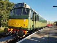 Class 25 D7612 at Totnes SDR