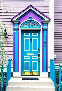 Themes: Blue & White Door
