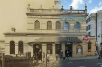 Gloucester Road Station London 1868 and Today