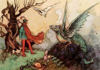 Vintage Fairy Tale Illustration