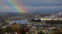 Rainbow Over Whakatane -NZ