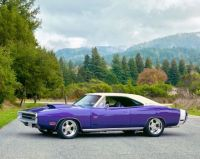 1970 purple Dodge Charger!   'bandit'