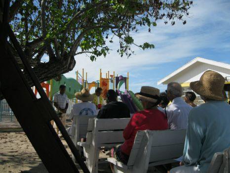 Mass under the Cork tree