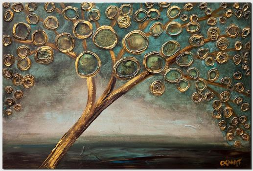 GOLDEN APPLE TREE (large) - Osnat Tzadok, Artist