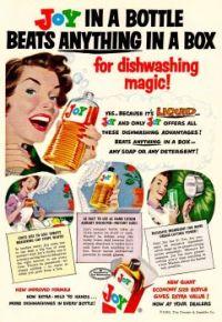 Themes Vintage advertisement - Joy Dishwashing magic