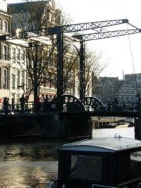 A bridge in Amsterdam