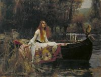 John William Waterhouse--The Lady of Shalott, 1888