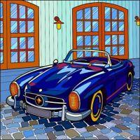 Generic Blue Sportscar