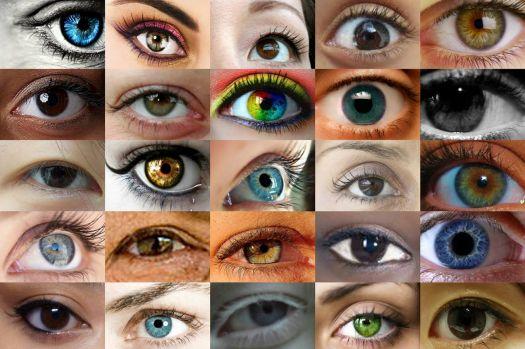 Women's eyes close up 1 (Large)