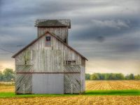 Illinois, Corn Crib
