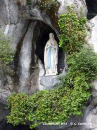 Lourdes - Sanctuary of Our Lady of Lourdes - The Apparition Grotto